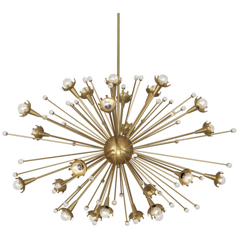 Sputnik Chandelier in Various Finishes design by Jonathan Adler