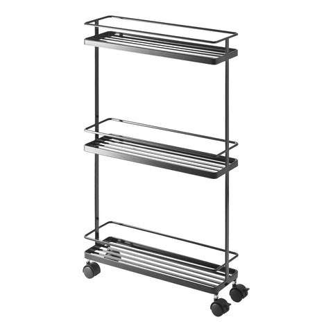 Tower Rolling Kitchen Storage Cart by Yamazaki