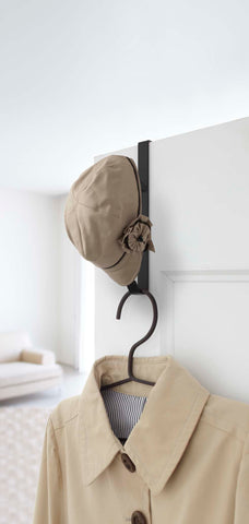Smart Over the Door Hook in Various Colors by Yamazaki