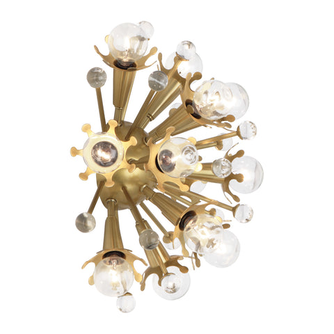 Sputnik Wall Sconce in Various Finishes design by Jonathan Adler