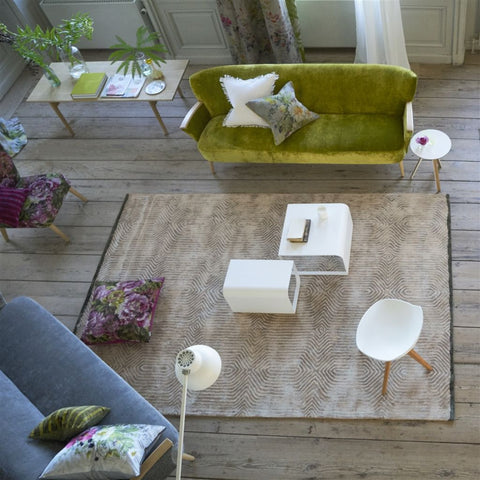 Roxburgh Linen Rug design by Designers Guild