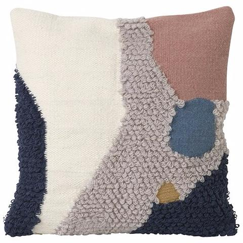 Loop Cushion in Landscape by Ferm Living