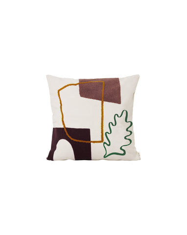 Mirage Cushion - Leaf by Ferm Living