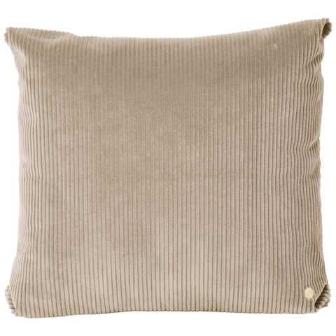 Corduroy Cushion in Beige by Ferm Living