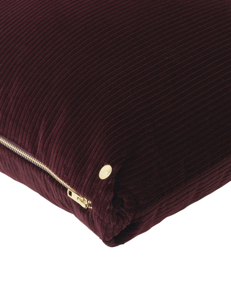 Corduroy Cushion in Burgundy design by Ferm Living