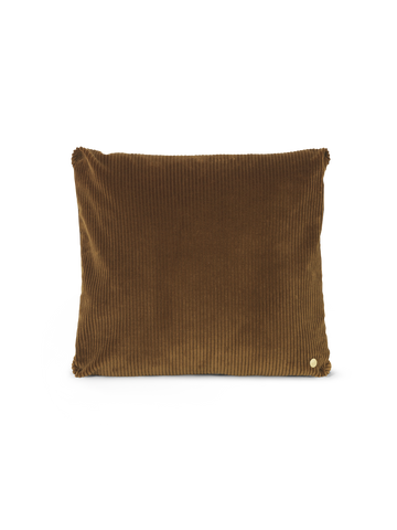 Corduroy Cushion in Golden Olive by Ferm Living
