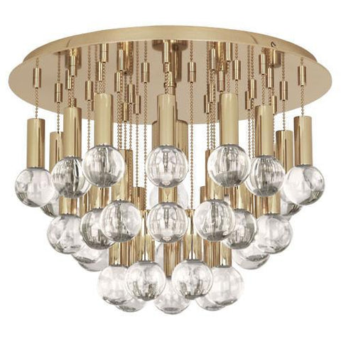 Jonathan Adler Milano Collection Flush Mount design by Robert Abbey