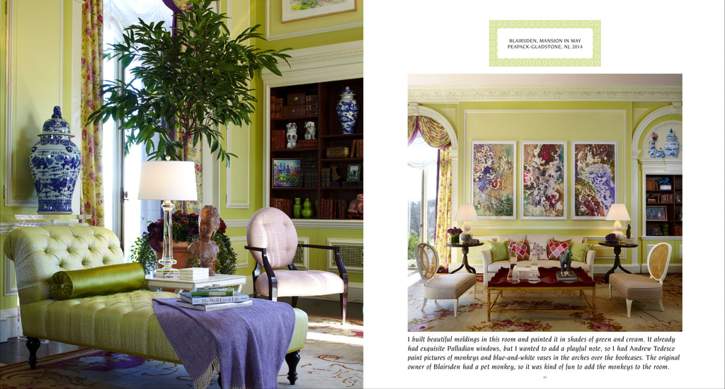 Curtain Up! Thirty Years of Spectacular Showhouse Rooms by Pointed Leaf Press