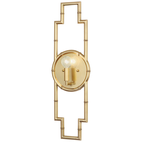 Meurice Framed Wall Sconce in Various Finishes design by Jonathan Adler