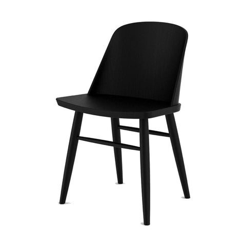 Synnes Dining Chair in Black Ash design by Menu
