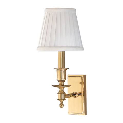 Ludlow 1 Light Wall Sconce by Hudson Valley Lighting