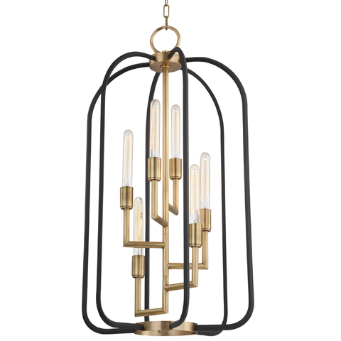 Angler 6 Light Chandelier by Hudson Valley Lighting