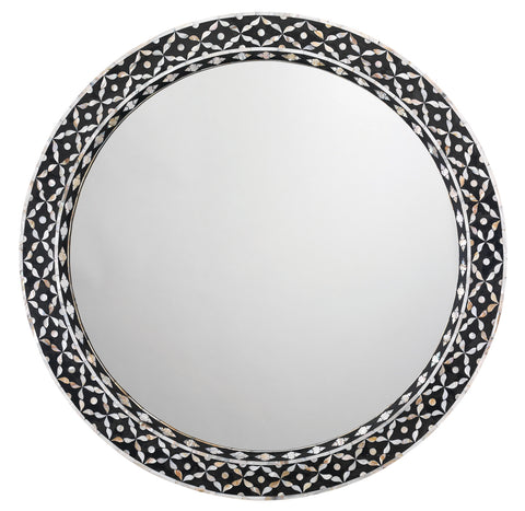 Evelyn Round Mirror design by Jamie Young