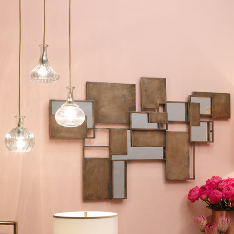 Optic Wall Art Mirror design by Jamie Young