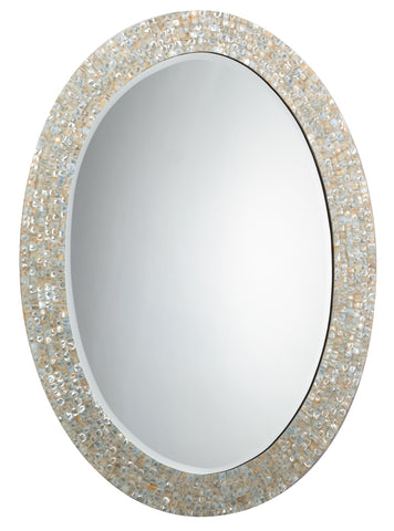 Large Oval Mirror design by Jamie Young