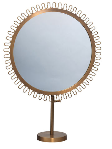 Sunburst Standing Mirror design by Jamie Young