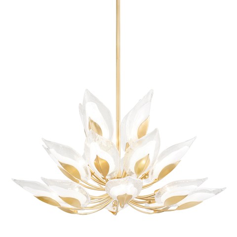 Blossom 20 Light Chandelier by Hudson Valley