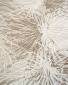Sample Anemone Wallpaper in Goldspun design by Jill Malek