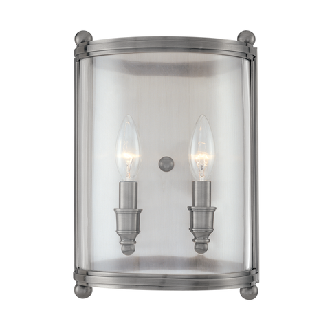 Mansfield 2 Light Wall Sconce by Hudson Valley Lighting