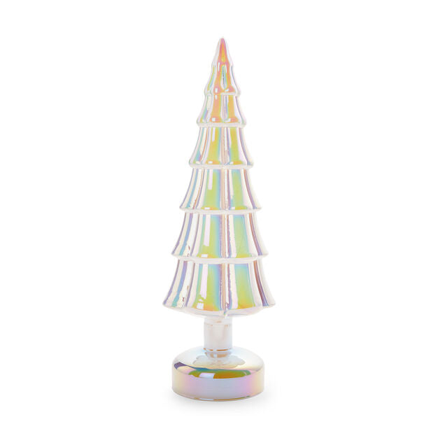 LED Lighted Tree in White