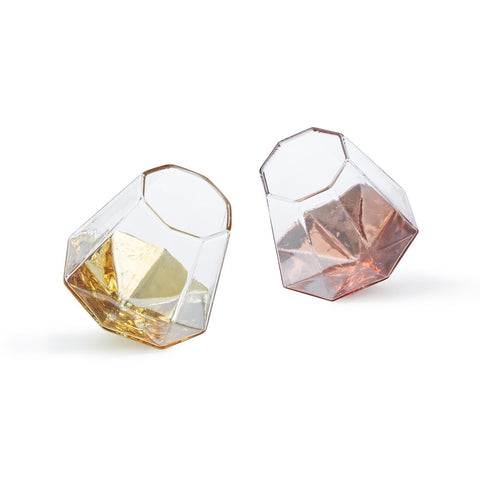 Shine Bright Like a Diamond Stemless Wine Glass in Various Colors