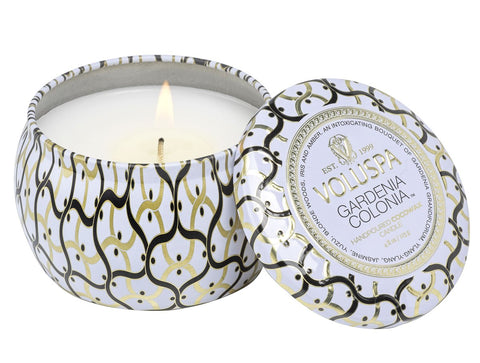 Gardenia Colonia Mini Tin Candle