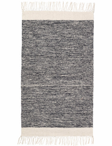 Melange Rug in Black design by Ferm Living
