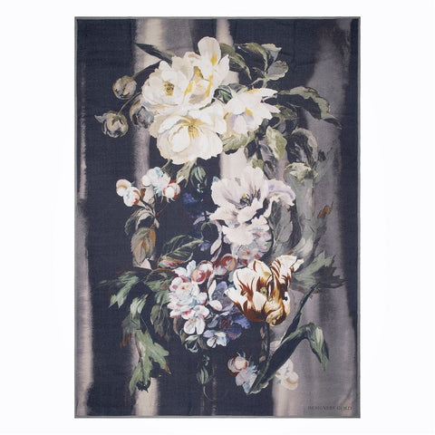 Delft Flower Noir Throw design by Designers Guild