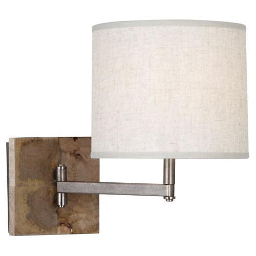 Oliver Collection Swing Arm Sconce design by Robert Abbey