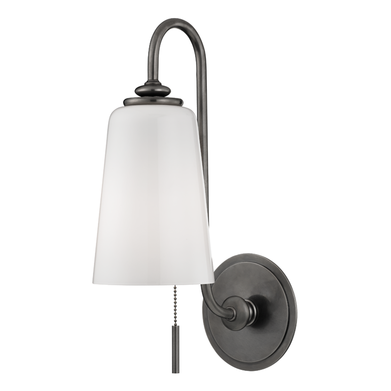 Glover 1 Light Wall Sconce by Hudson Valley Lighting