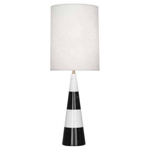 Canaan Tapered Table Lamp  by Jonathan Adler for Robert Abbey
