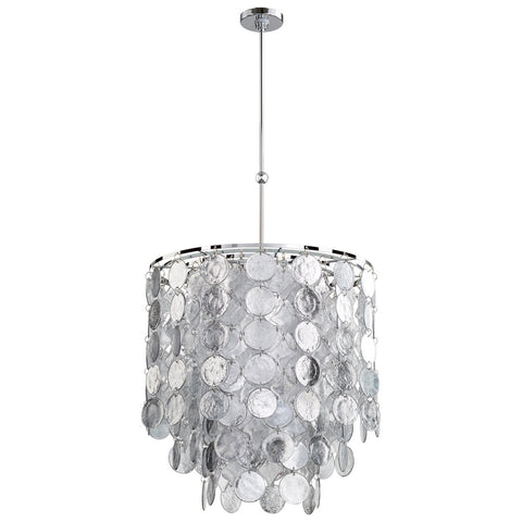 Carina Nine Light Pendant design by Cyan Design
