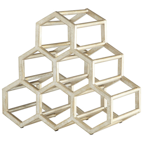 Hex Hut Wine Rack design by Cyan Design