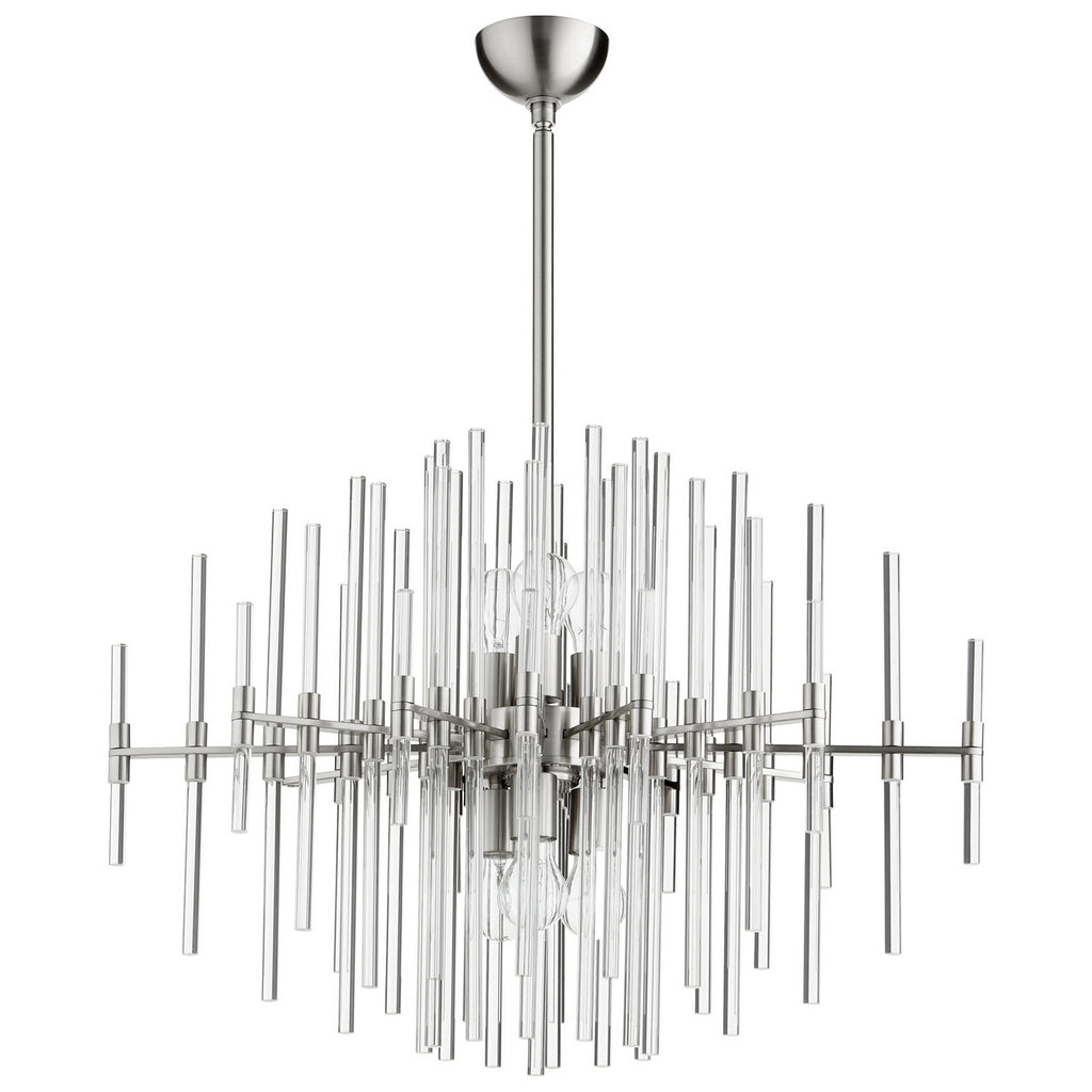 Quebec Pendant in Satin Nickel