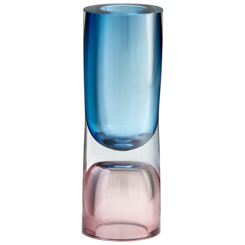 Large Majeure Vase in Purple & Blue design by Cyan Design