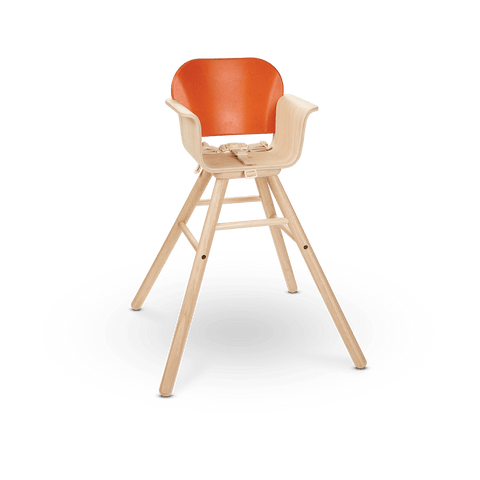 High Chair in Orange