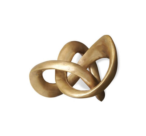 Trefoil Knot Sculpture Design By Interlude Home