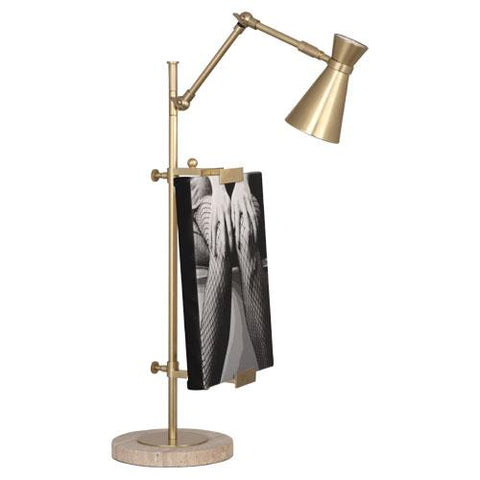 Bristol Adjustable Table Easel with Lamp by Jonathan Adler for Robert Abbey