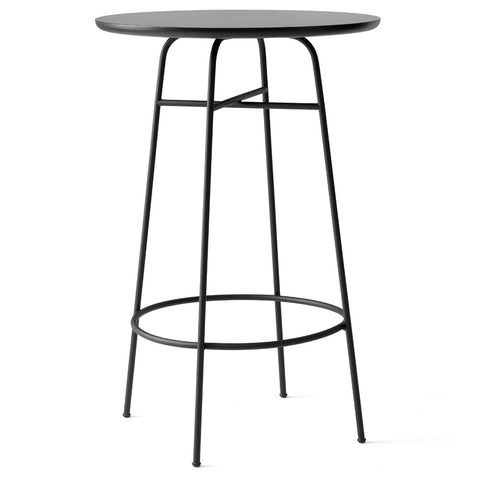 Afteroom Bar Table Table in Black Laminate design by Menu