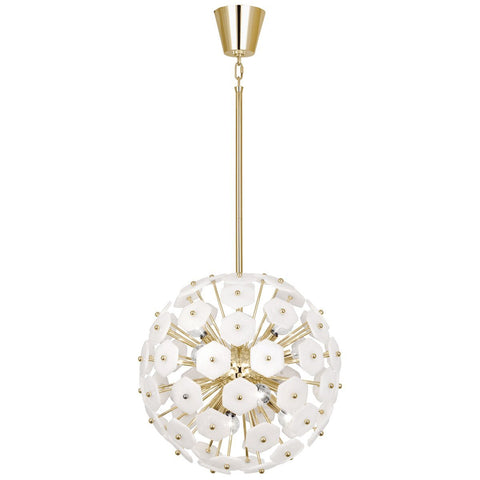 Vienna Small Globe Pendant in Various Finishes design by Jonathan Adler