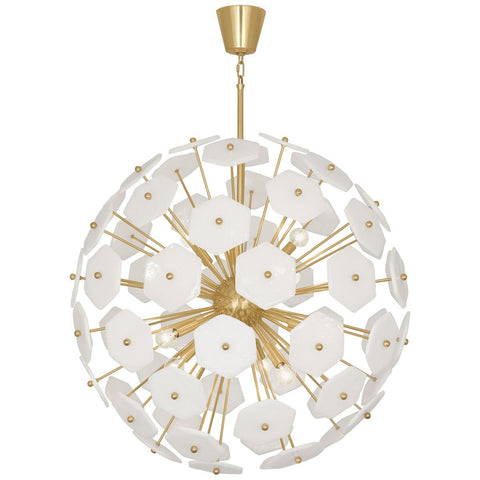 Vienna Large Globe Pendant in Various Finishes design by Jonathan Adler