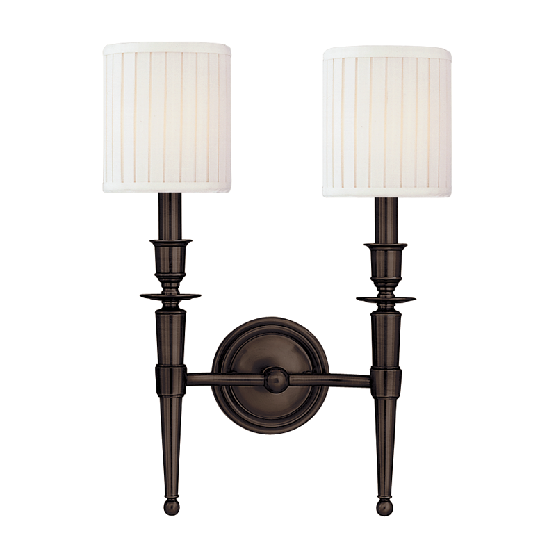 Abington 2 Light Wall Sconce by Hudson Valley Lighting
