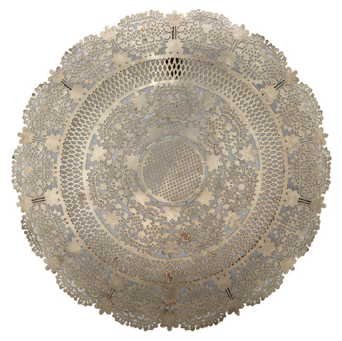 Penelope Lace Wall Art Medallion design by Jamie Young
