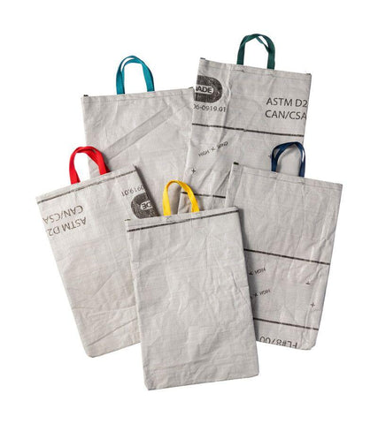 Recycled Tarp Tote Bag - Small