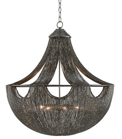 Eduardo Chandelier design by Currey & Company
