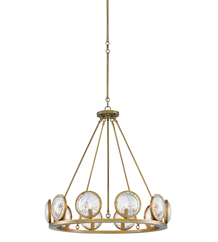 Currey And Company Coral Chandelier: MarjieScope Chandelier In Brass Design By Currey & Company
