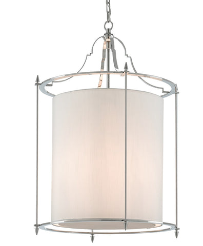 Miller Lantern in Nickel design by Currey & Company
