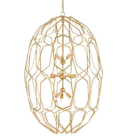 Albertine Chandelier design by Currey & Company