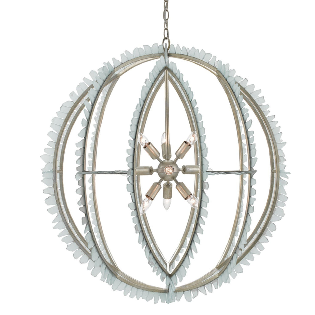 Currey And Company Orb Chandelier: Saltwater Orb Chandelier Design By Currey & Company