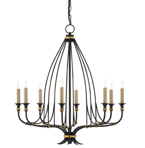 Small Folgate Chandelier design by Currey & Company
